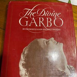 Vintage Diane Garbo Hollywood glam book